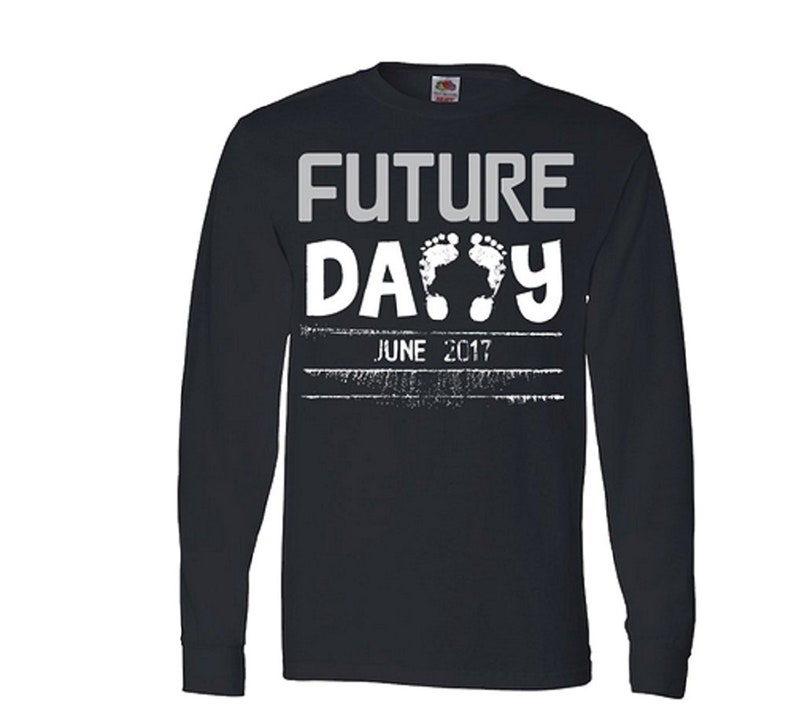 c95ad68b Future Daddy T Shirt Personalized T Shirt for Daddy Custom T   Etsy