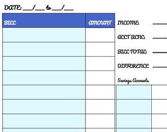Finance Workbook (Printable)