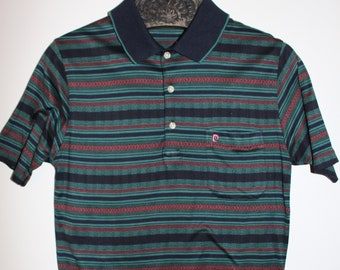 2233ef49cd5 PIERRE CARDIN Vintage DESIGNER Polo Mens Shirt Size Small