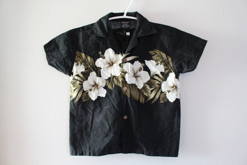 Retro 2 Piece HAWIIAN Short And Button Up Set