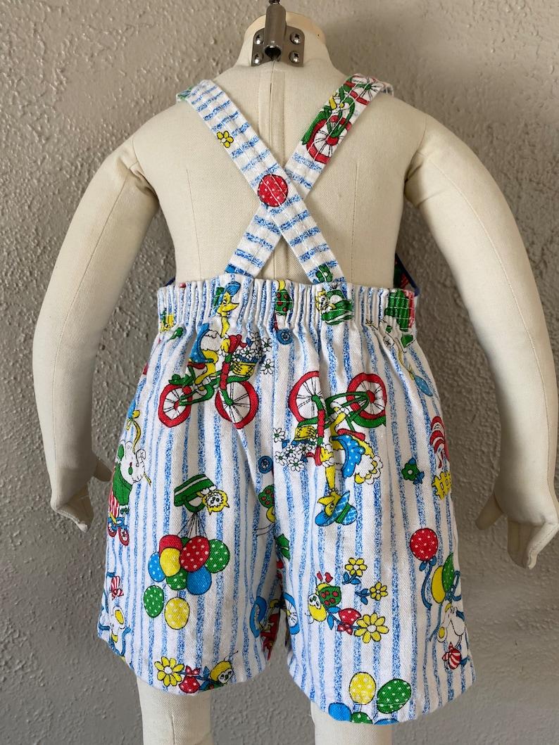 Vintage Short Overalls Baby 12-18 months