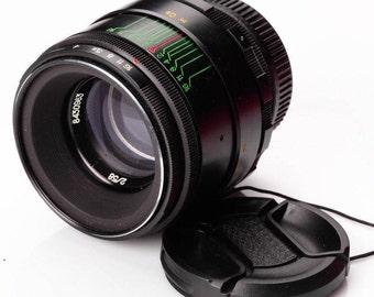 US Seller Helios 44-2 EXCELLENT 58mm f2 Russian portrait Lens DSLR M42 Mount