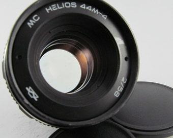 Helios 44m-4 Lens DSLR 58mm m42 SLR Old Vintage f2 Russian portrait Bokeh Manual Zenit Mount Gift ( 44-2 Analogue )