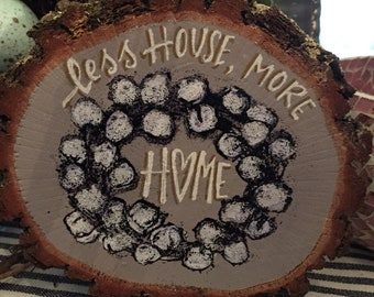 Less house, More Home