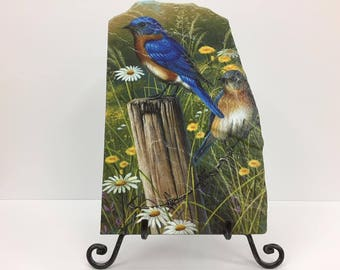 Blue Bird Handmade Flagstone
