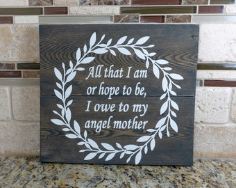 Mother's Day - Wood Sign