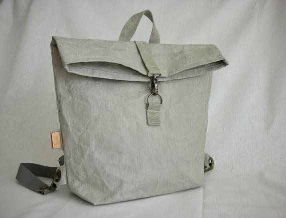 snappap urban rucksack waschbar papiert te vegane tasche. Black Bedroom Furniture Sets. Home Design Ideas