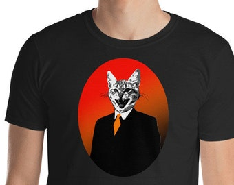 The Silhouette Collection - 'Business Cat' T-Shirt