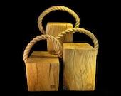 Doorstops to order (oak)...