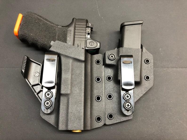 Glock 17,19,23 etc Vesuvius Flex AIWB Kydex Holster