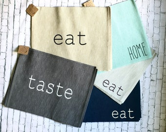 Farmhouse Style Placemat Set/ Table Setting/ Placemat