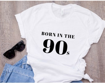 Born in the 90s T-shirt 392d9a993