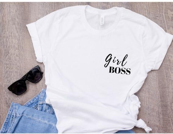 I Am Not Bossy I Am The Boss Female Empowerment Ladies T Shirt Feminism