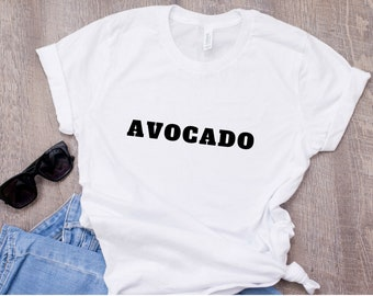 Avocado t-shirt, Avocado shirt, Vegan Shirt, Vegan T-shirt, Avocado, Avocado boob shirt, Gift for Her, Tumblr, Pinterest, Instagram
