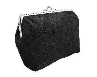 black clutch purse black purse clutch bag formal bag formal clutch evening  clutch bag chain satin lace clutch black evening black 0415 0b6f0d583030f