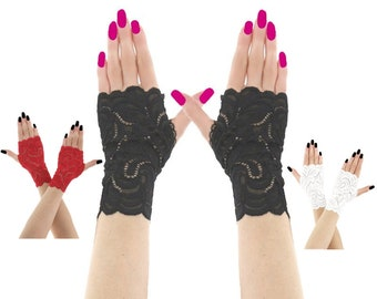 44ebf72a8bf lace gloves black formal gloves evening gloves fingerless mittens women  gloves black mittens wrist warmers gloves fabric lace black 2300