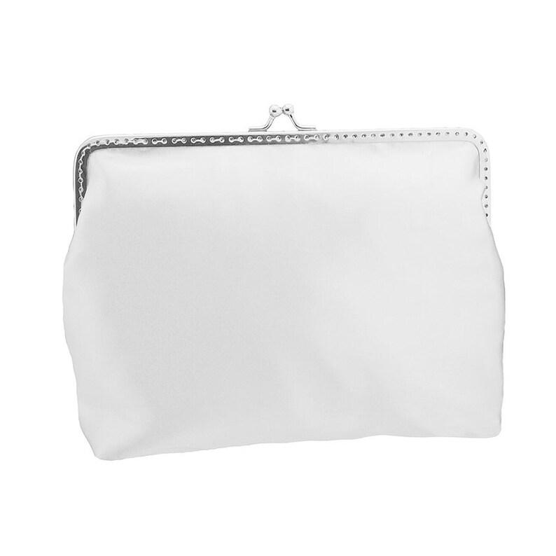 7ec56e402b58 White clutch bag clutch purse bridal purse bridal bag wedding