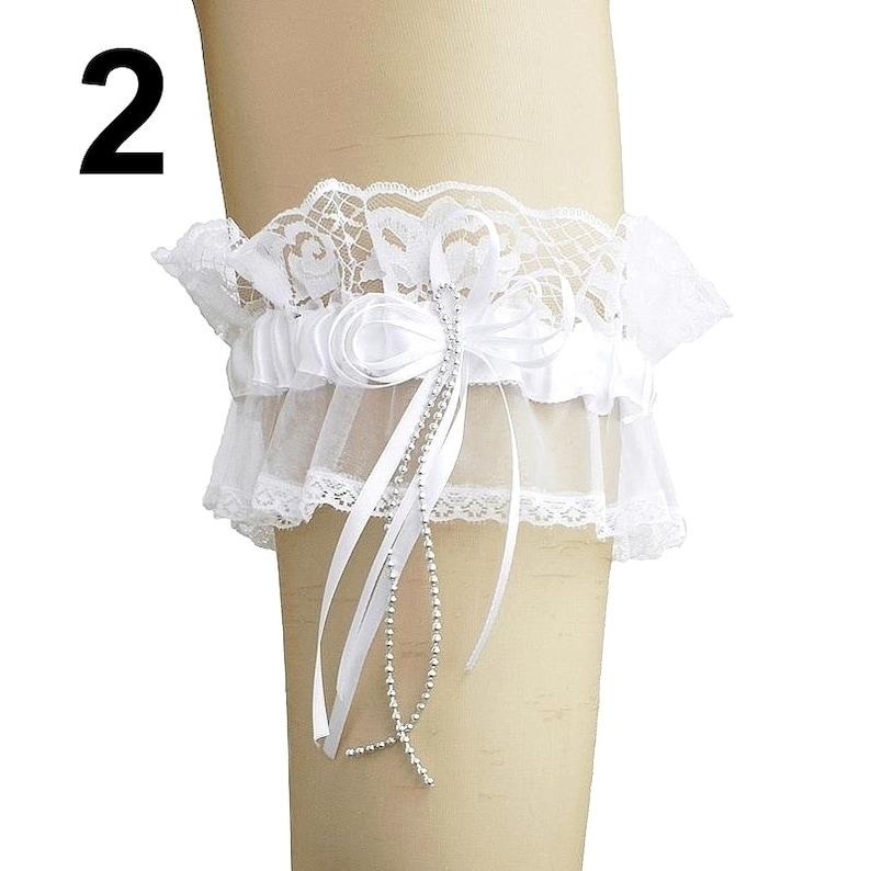 white women bride wedding lingerie garter bridal garter satin garter white garter bride satin flower bride bridal lingerie white 0065