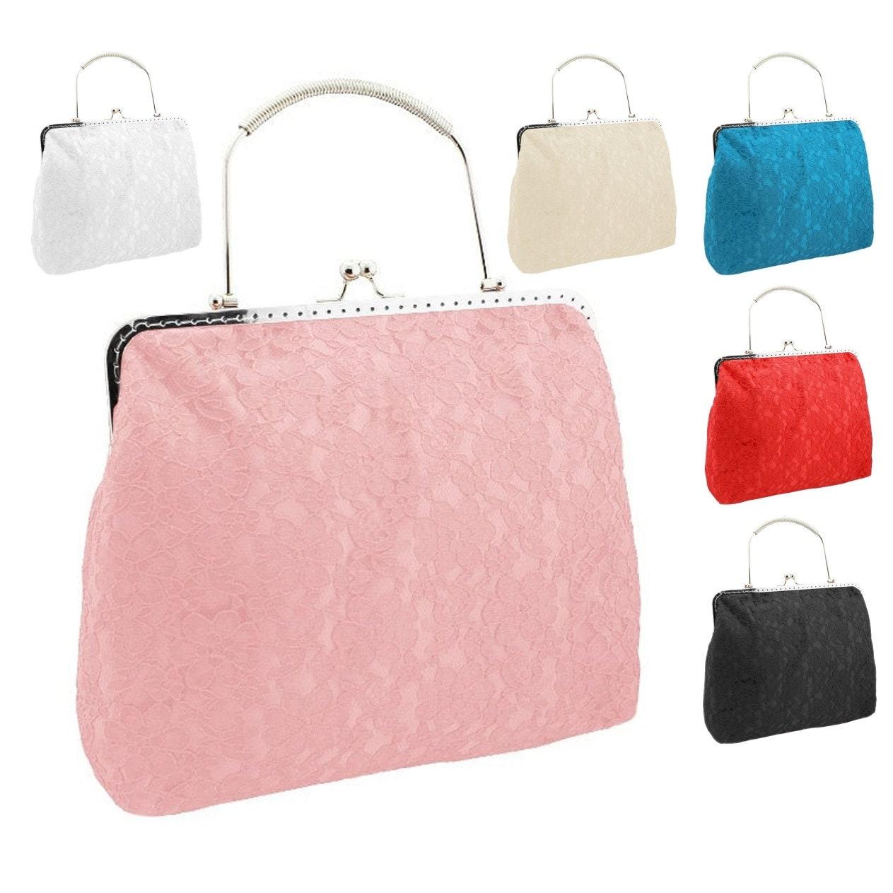 cfcc034f86cb Women handbag pink purse pink clutch bridal clutch bridal bag   Etsy