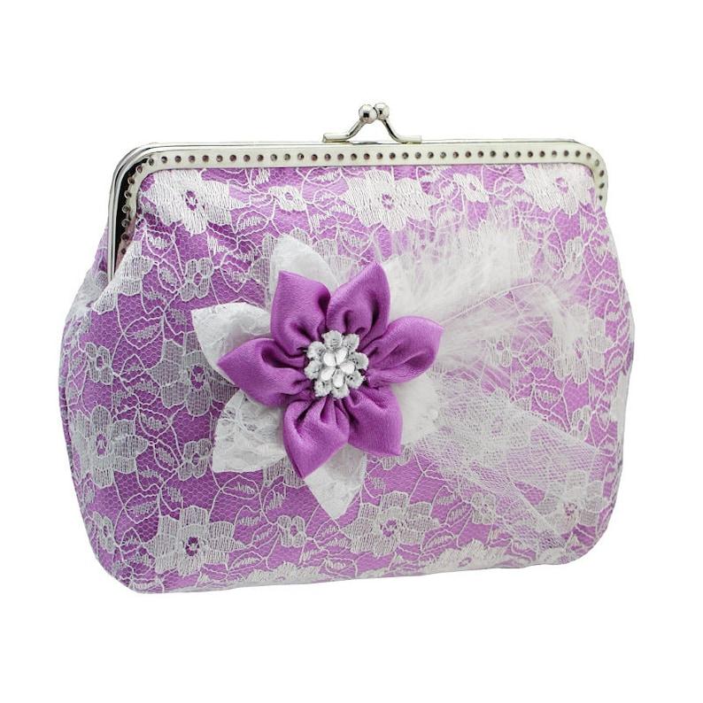 54d9c75e1b44 Purple clutch bridal bag purple purse wedding clutch bag   Etsy