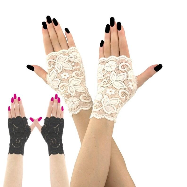 1b49de470 Lace gloves ivory gloves bridal gloves wedding gloves