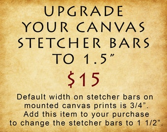 Canvas Print - Gallery Wrapped Canvas - Mounted Canvas