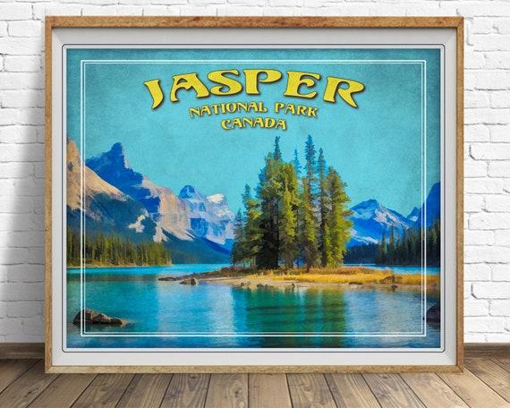 Park Art|My WordPress Blog_20+ Jasper National Park Vintage Poster  Pictures