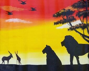 Ugandan Art - African Animals
