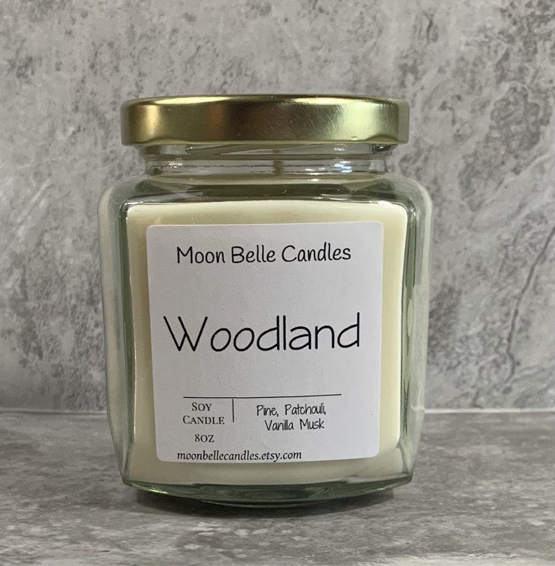 Woodland Soy Candle