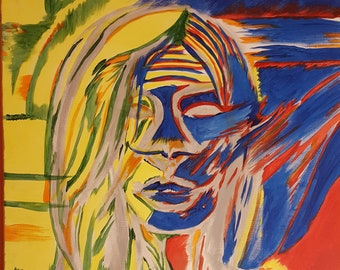 Abstract woman's Portrait