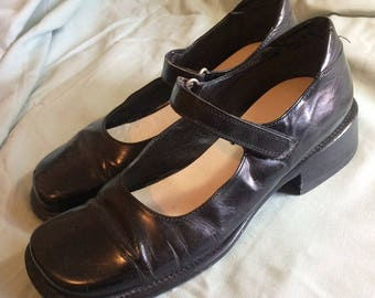 Joan and David Leather Women's Mary Janes - European size 38, US Size 8.5