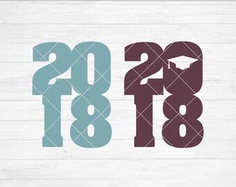 Instant SVG/DXF/PNG 2018, graduation svg, quote, tshirt, dxf, cut file, silhouette, cricut, grad phrase, grad, school svg, senior, graduate