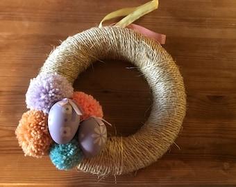 Occasion Pom Pom Wreath