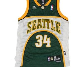Seattle Supersonics Allen Adidas Jersey