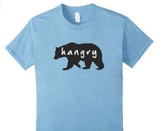 Hangry Hungry Bear T-Shirt Youth