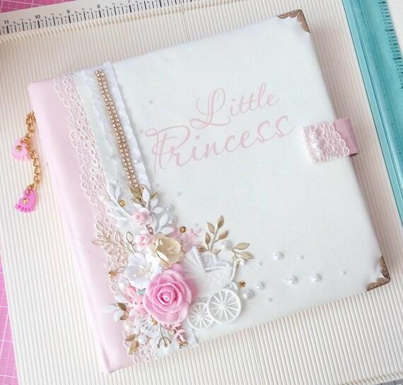 Personalized Baby Girl Photo Album Baby Memory Book Girl Etsy