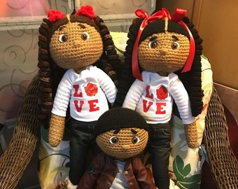 Crochet Dolls Made With Love
