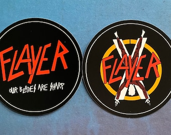 Flayer - House Bolton - Game of Thrones Parody Stickers Set of 2