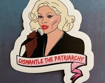 Bimini Bon Boulash Sticker Drag Race UK