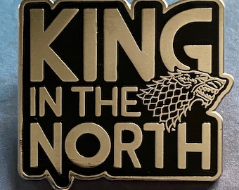 King in the North Enamel Pin - Game of Thrones