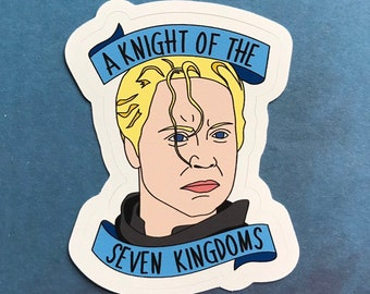Brienne of Tarth - A Night of the Seven Kingdoms - Game of Thrones Vinyl Sticker