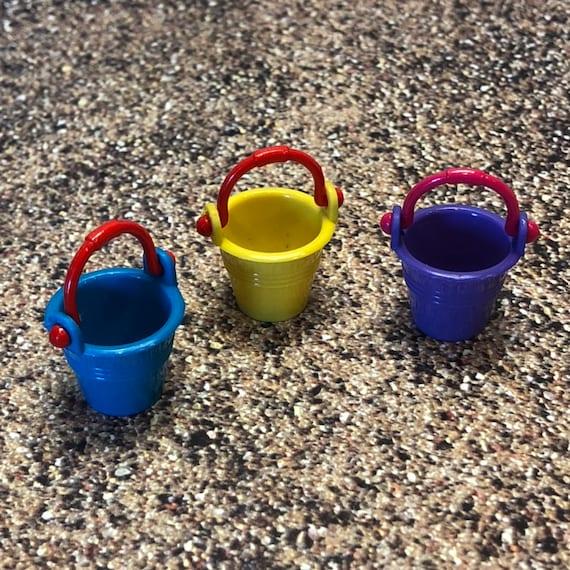 Gnome Garden: Fairy Garden Sand Pail Beach Bucket Mini Bucket Tiny