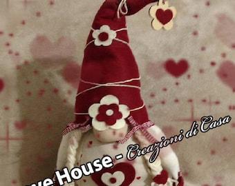 Spring Gnomes handmade Door love