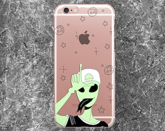 Alien iPhone 6 Case iPhone 8 Case iPhone 8 Plus Case iPhone 7 Plus Case  iPhone 7 Case iPhone 6s Case iPhone 6 Plus Case UFO iPhone 5s Case f06895e687817