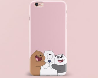abfa102be2 Inspired by We Bare Bears iPhone 8 Plus Case iPhone 7 Case iPhone X Case  Samsung Galaxy S8 Samsung Galaxy S9 iPhone 6 Case iPhone 6s Case