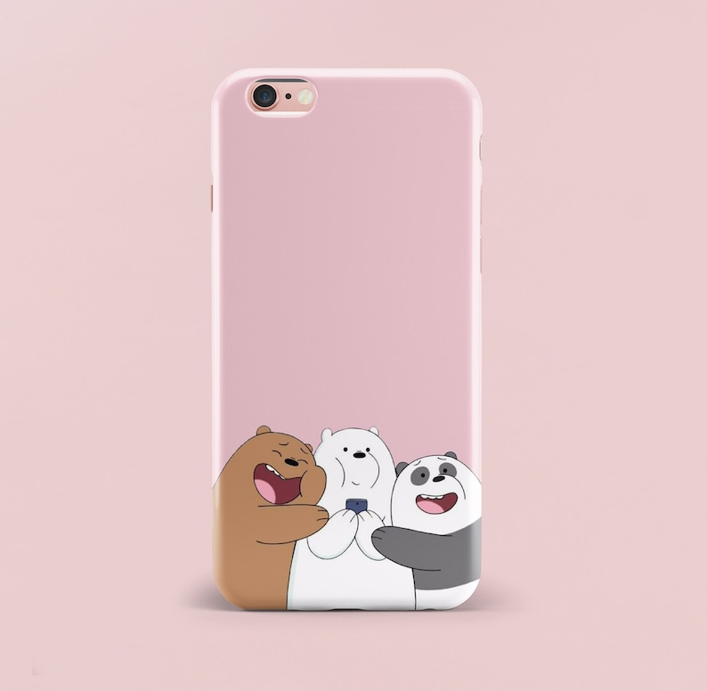 differently 8e877 f90c5 Inspired by We Bare Bears iPhone 8 Plus Case iPhone 7 Case iPhone X Case  Samsung Galaxy S8 Samsung Galaxy S9 iPhone 6 Case iPhone 6s Case