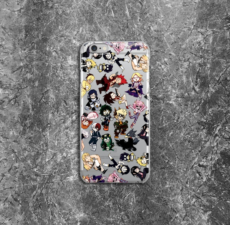 coque my hero academia iphone 7