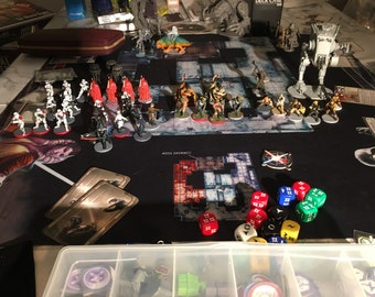 Fully painted Imperial Assault core set