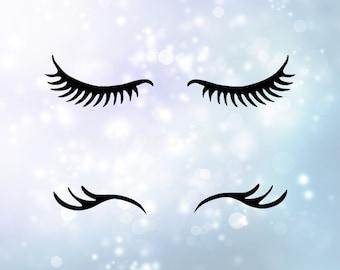 unicorn eyelashes etsy