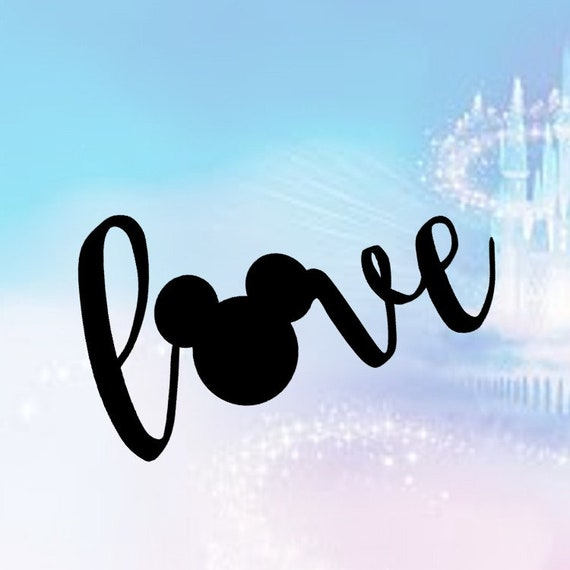 Download I Love Mickey Mouse Disney SVG Love Disney clipart ...
